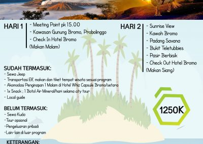NEW YEAR BROMO 31DES'18-1JAN'19