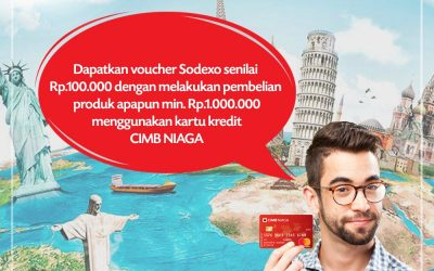 GET SODEXO VOUCHER UP TO Rp. 1.000.000