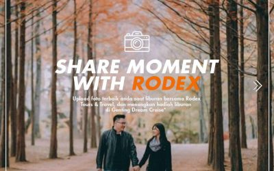 SHARE MOMENT WITH RODEX